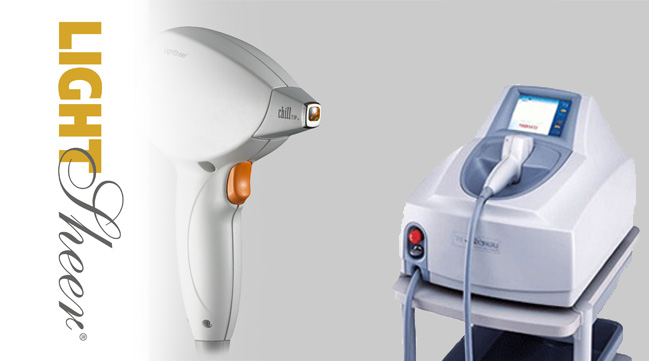lightsheer depilacja laserow