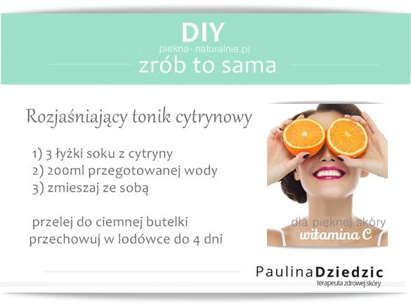 DIY- tonik cytrynowy