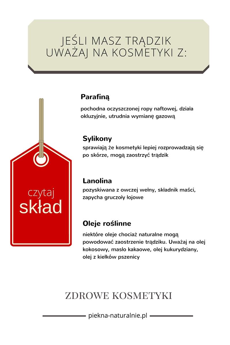 składniki acnegenne